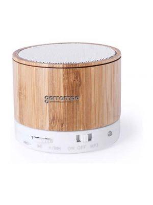 Altavoces kaltun de bambú ecológico para personalizar vista 1