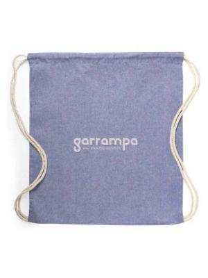 Mochila cuerdas personalizada konim de 100% algodón ecológico vista 1