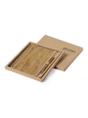 Libretas personalizadas hecan de bambú ecológico vista 1