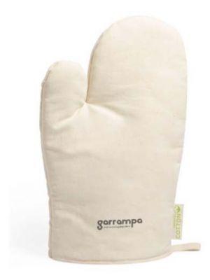 Paños y manoplas calen de 100% algodón ecológico con logo vista 1