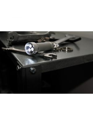Llaveros con linterna lamp de led con logo imagen 3