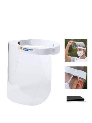 Seguridad covid pantalla facial derol de pet con logo imagen 1