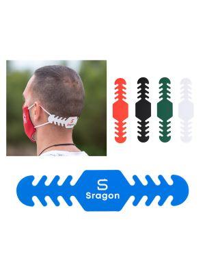 Seguridad covid ajustador mascarilla dinsol de plástico para personalizar imagen 1