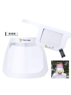 Seguridad covid pantalla facial niño binky de pet para personalizar vista 1