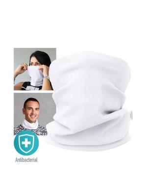 Seguridad covid braga antibacteriana nical de poliéster con logo imagen 6