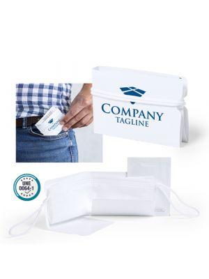 Seguridad covid set higiénico resil no tejido con publicidad imagen 9