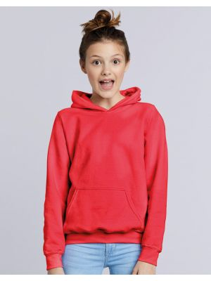 Sudaderas capucha gildan con capucha niño vista 1