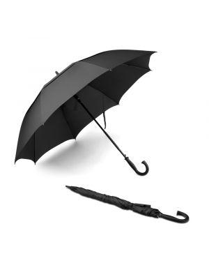 Paraguas clásicos honor de poliéster con logo vista 3
