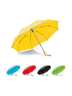 Paraguas clásicos uma de poliéster con publicidad imagen 3