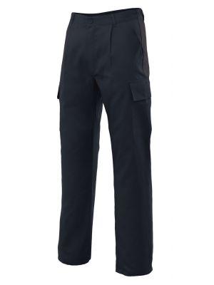 Pantalones de trabajo velilla multibolsillos con 5 bolsillos de algodon vista 1