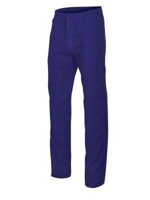 Pantalones de trabajo velilla con 2 bolsillos franceses de algodon para personalizar vista 1