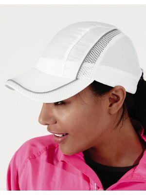 Gorras deportivas beechfield con malla coolmax® con impresión imagen 1