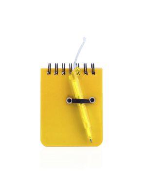 Libretas pequeñas duxo de plástico para personalizar vista 1
