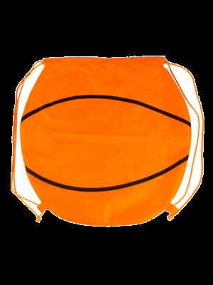 Mochila cuerdas personalizada baloncesto de poliéster con impresión vista 1