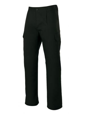 Pantalones de trabajo velilla multibolsillos con 6 bolsillos de poliéster imagen 1