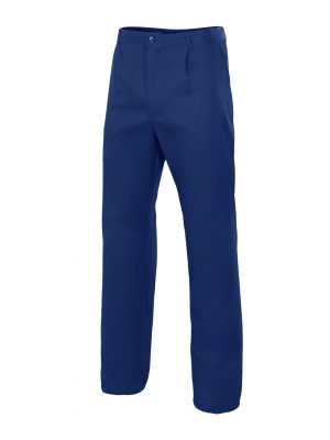 Pantalones de trabajo velilla bolsillo en pierna derecha de algodon vista 1