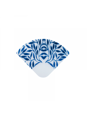 Abanicos bloom de cristal con logo vista 1