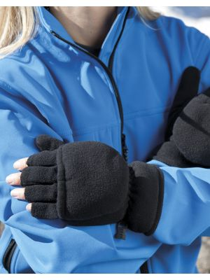 Guantes invierno result guantes mitones palmgrip con impresión vista 2