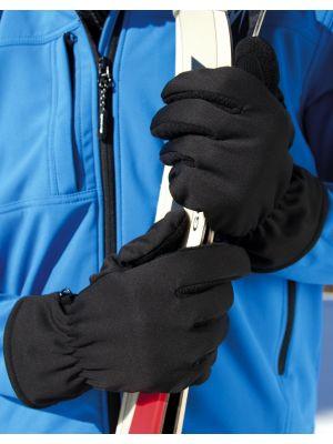 Guantes invierno result guantes softshell thermal para personalizar imagen 1