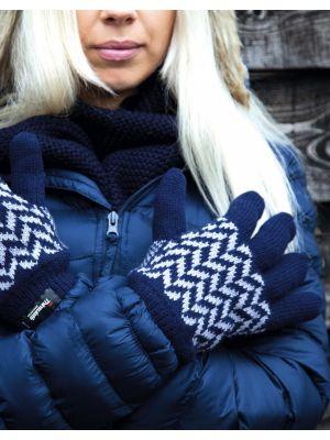 Guantes invierno result guantes con patrón thinsulate para personalizar vista 1