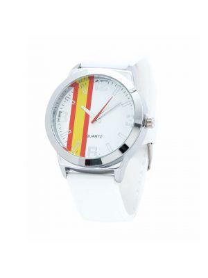 Relojes pulsera enki de silicona con logo vista 1