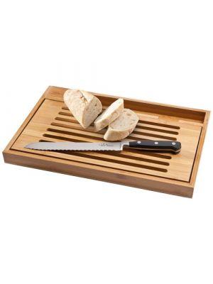 Tablas cocina for cutting with a bistro bread knife de metal ecológico imagen 1