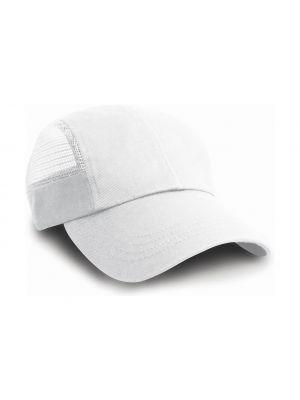 Gorras deportivas result sport con rejilla lateral con impresión vista 1
