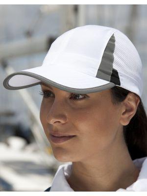 Gorras deportivas result de deporte spiro ecológico con publicidad vista 1