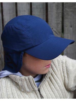 Gorras serigrafiadas result legionario niño con logo vista 1