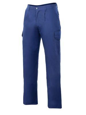 Pantalones de trabajo velilla acolchado y multibolsillos de algodon vista 1