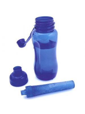 Bidones bore de plástico con logo vista 1