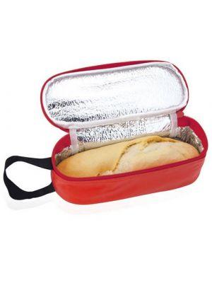 Bolsas nevera y comida rufus de metal con logo imagen 1