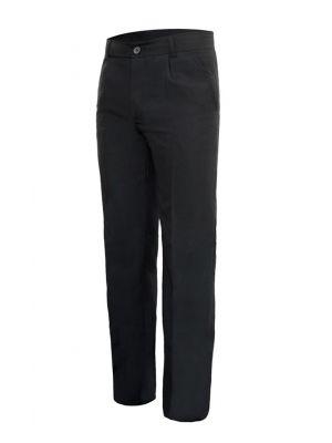 Pantalones de hostelería velilla pantalon sala hombre de poliéster para personalizar vista 1
