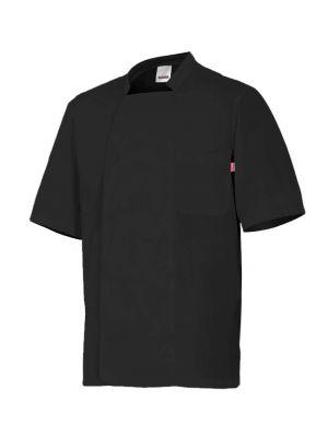 Chaquetillas de cocina velilla de cocina manga corta cuello tirilla de algodon vista 1
