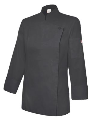 Chaquetillas de cocina velilla de cocina mujer con cremallera de algodon vista 1