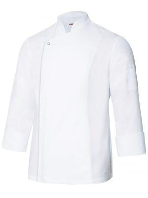 Chaquetas de cocinero velilla de cocina con tejido transpirable para personalizar vista 1