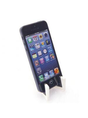 Soportes móviles laxo con publicidad vista 2