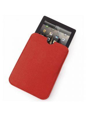 Fundas tablet tarlex de fieltro con logo vista 2