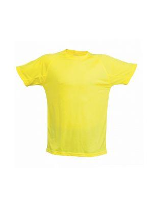 Camisetas técnicas tecnic plus unisex de poliéster con logo vista 1