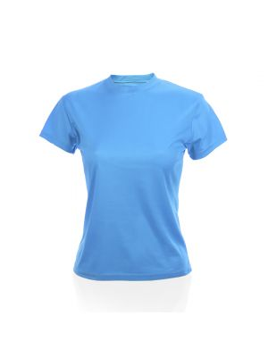 Camisetas técnicas tecnic plus mujer de poliéster con impresión vista 1