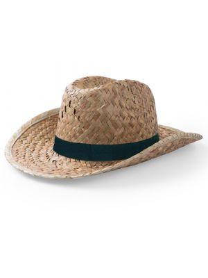 Sombreros bull de paja para personalizar vista 1