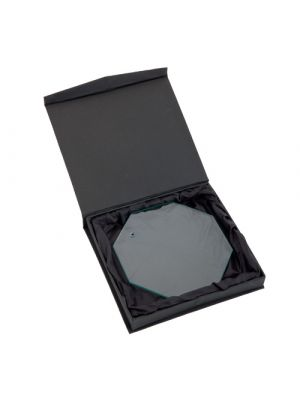 Trofeos y medallas placa nelum de cristal con logo vista 1