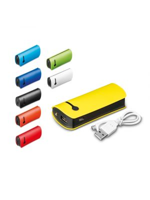 Baterias power bank optimus de led con logo vista 1