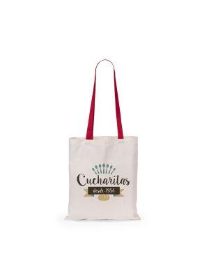 Bolsas plegables fuzox de 100% algodón con publicidad imagen 1