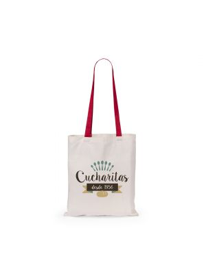 Bolsas plegables fuzox de 100% algodón para publicidad vista 1