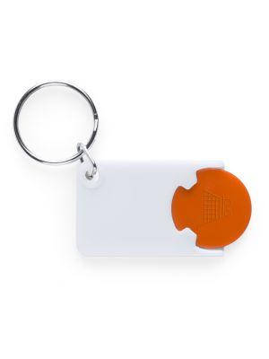 Llaveros con moneda zabax con logotipo imagen 1
