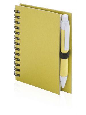 Cuadernos con anillas pilaf de cartón ecológico con impresión vista 1