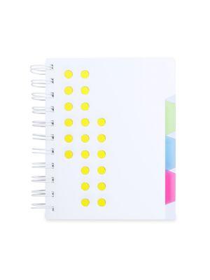 Cuadernos con anillas bucef de plástico para publicidad vista 1