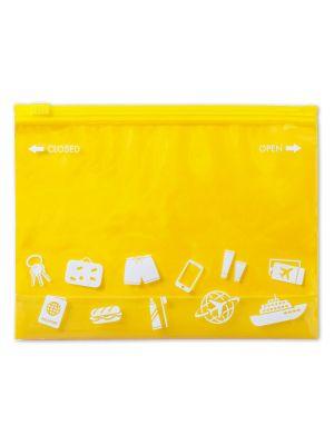 Porta todo viaje dusky de plástico con logo vista 1