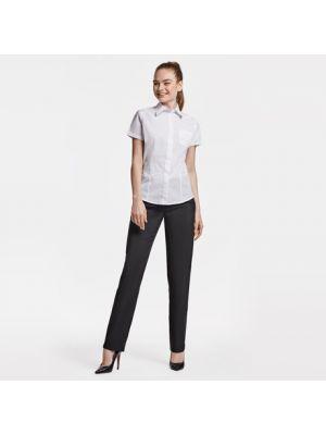 Camisas manga corta roly sofia de poliéster con logo vista 1